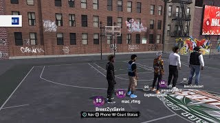 Walk on any court in 2K18 (GLITCH ) newest patch