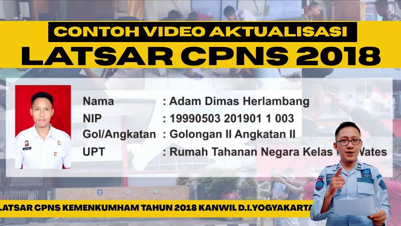 Contoh Video Aktualisasi Latsar CPNS | Polsuspas