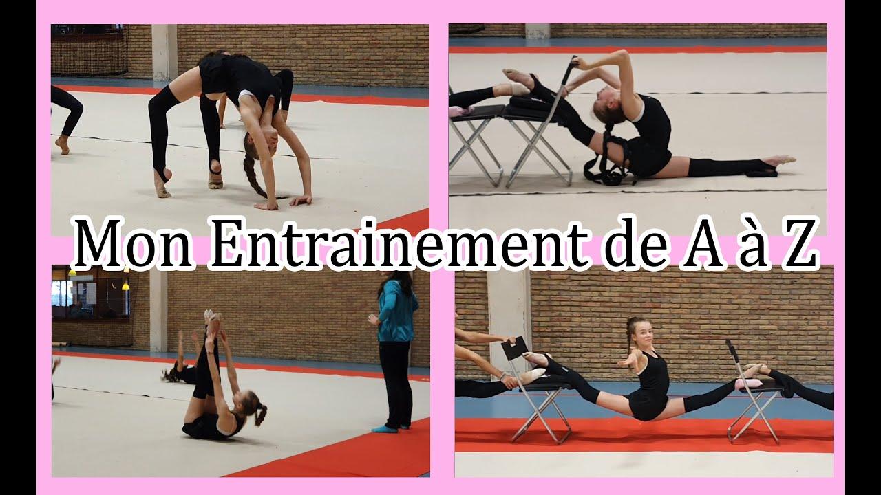 Mon entrainement de Gymnastique Rythmique [ De A à Z ]  My rhythmic gymnastics training from  A to Z