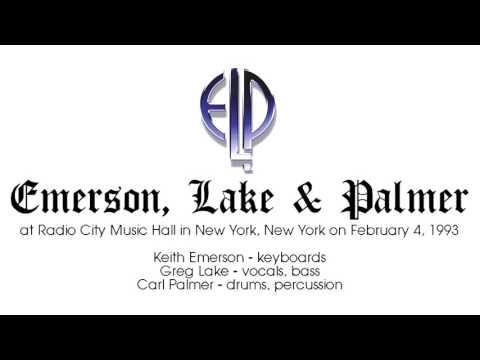 1993-02-04 Emerson Lake and Palmer at 'Radio City Music Hall' (New York City)