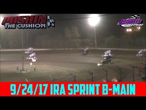 LaSalle Speedway - 9/24/17 - IRA Sprints - B-Main