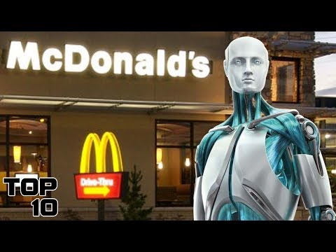 Top 10 Jobs Robots Will Take Over