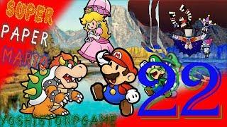 La Premonición del Pixelito del Salto Bomba【Super Paper Mario】Ep.22
