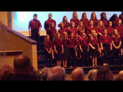 "Ransom Middle School Chorus-""Yonder Day"""