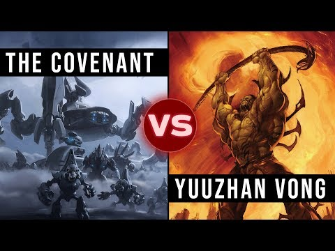 Could the Covenant Defeat the Yuuzhan Vong? | Star Wars vs Halo: Galactic Versus