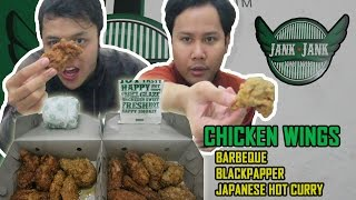 JANK JANK Chicken Wings - Food Review Malang