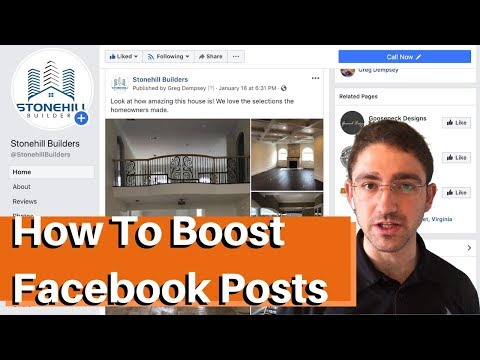 How To Boost Facebook Posts - Advertising For Contractors