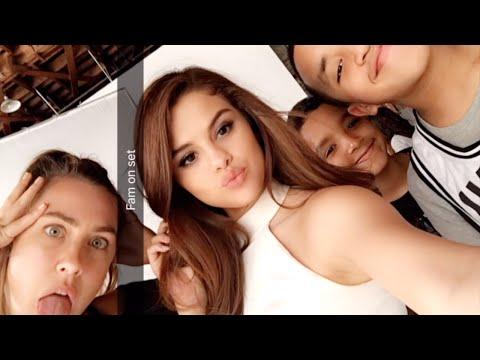 Selena Gomez | ALL Snapchat Videos | 2016 thumbnail