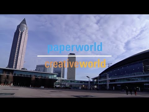 Paperworld Creativeworld 2018, Messe Frankfurt