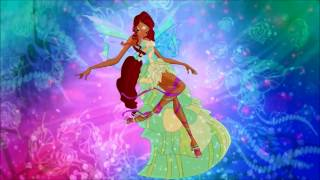 Winx Club: 5x13 Harmonix Group Transformation HD!