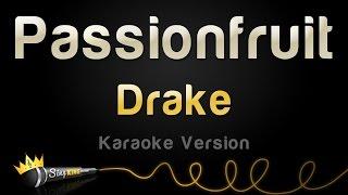 Gambar cover Drake - Passionfruit (Karaoke Version)