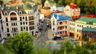 Мини взгляд на Киев (титл шифт съемка)