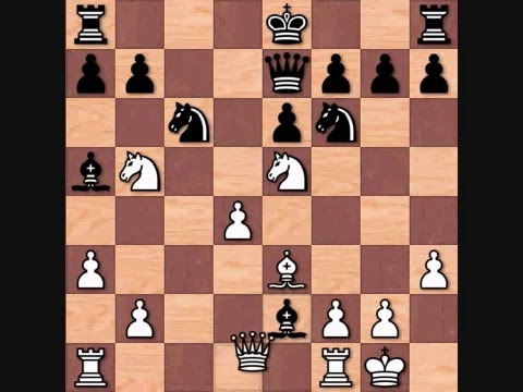 Deep Blue vs Gary Kasparov Game 1 1996 Famous Chess Game Art Print Chess Gifts