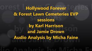 Hollywood Forever and Forest Lawn Cemeteries - Karl and Jamie