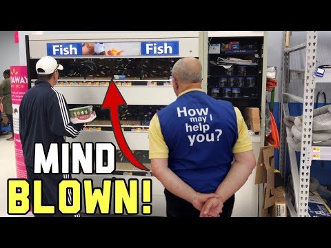 THIS VIDEO WILL CHANGE YOUR MIND ABOUT *WALMART FISH*