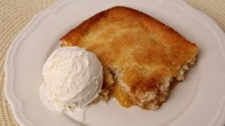 Homemade Peach Cobbler - Laura Vitale - Laura In The Kitchen Episode 424