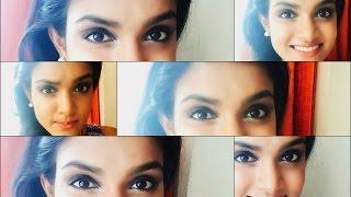 black smokey eye easy smokey for beginners malayalam makeup tutorial 003