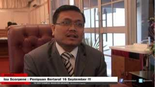 Isu Scorpene  Penipuan Bertaraf 16 September : Shamsul Anuar