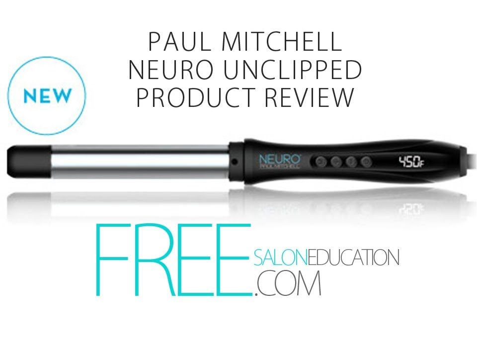 CURLING WAND REVIEW - Paul Mitchell Neuro Unclipped Review from FreeSalonEducation.com