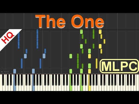 The Chainsmokers - The One I Piano Tutorial & Sheets by MLPC