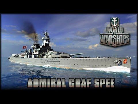 World of Warships - Admiral Graf Spee [ deutsch | Gameplay ]