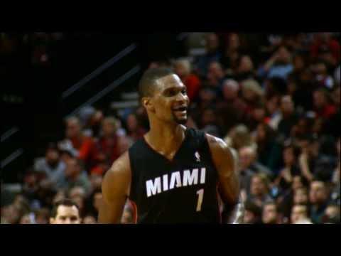 Chris Bosh Talks About His Miami Heat Family on NBA Inside Stuff