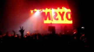 Boys Noize @ Music Box, Hollywood, 12-2-11 - PT-1: Intro (HQ Audio)