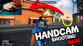 ASI ES COMO SE VE MI MANO MIENTRAS JUEGO, HANDCAM! | SHOOTING