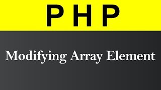 Modifying and Deleting Array Element using unset Function in PHP (Hindi)
