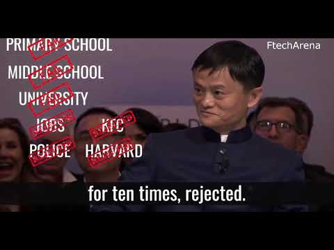Inspiring Speech : My Story Of Failure Jack Ma