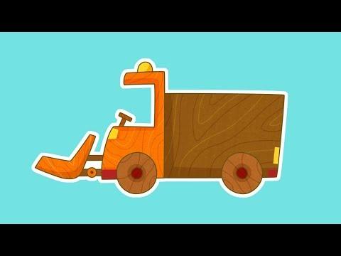 Çocuklar Için ARABALAR - Kar Temizleme Arabası! Eğitici çizgi Film Türkçe Izle!