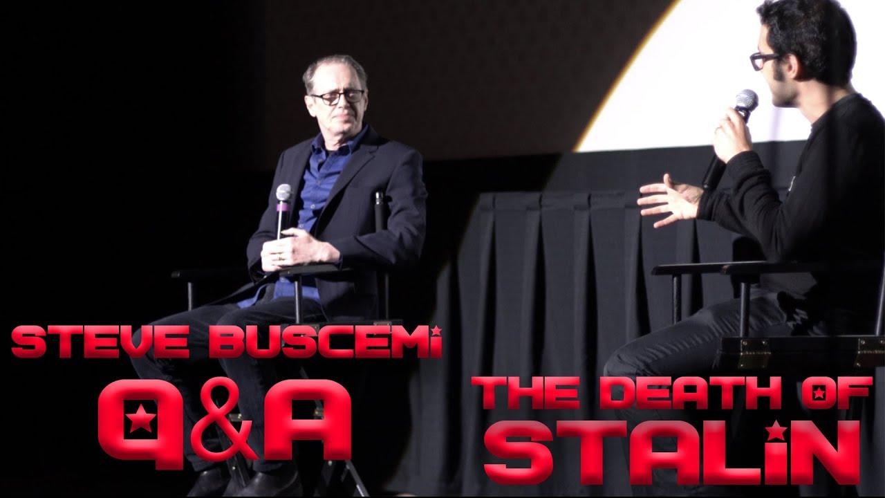 "Steve Buscemi ""The Death of Stalin"" Q&A   Alamo Drafthouse 2018 - YouTube"