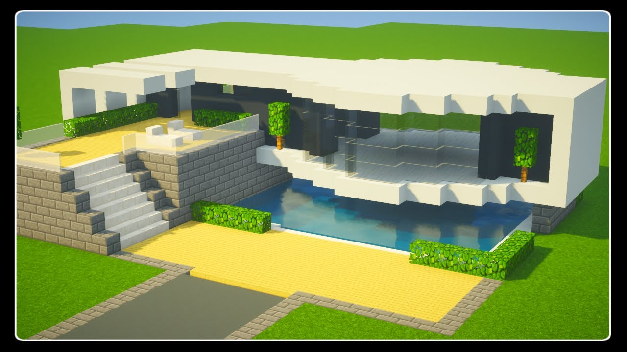Tuto Grande Maison En Bois Facile A Faire Minecraft By Cardex