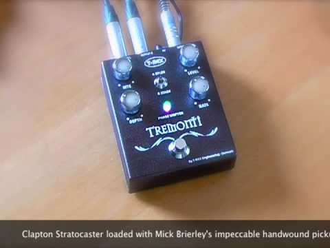 T-Rex Tremonti Phaser: Through clean, dirty and stereo amps.