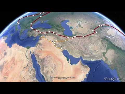 The New Silk Road Becomes the World Land Bridge, A Tour