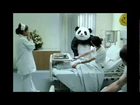 angry panda commercial