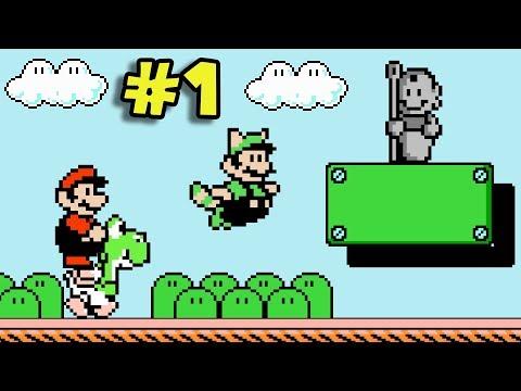 ¿El Mejor Hack de Mario 3? - Jugando Super Mario Bros. 3 Mix con Pepe el Mago