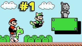 ¿El Mejor Hack de Mario 3? - Jugando Super Mario Bros. 3 Mix con Pepe el Mago Video