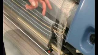 Panter Rapier Weaving Loom - Fabrics and Yarns possible to be used tessuti