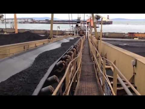 Coal Export Terminal: Rotary Rail Car Dumpers, Bucket Wheel Reclaimers, Ship Loaders