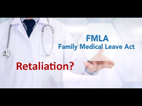 Fmla retaliation complaint sexual harassment