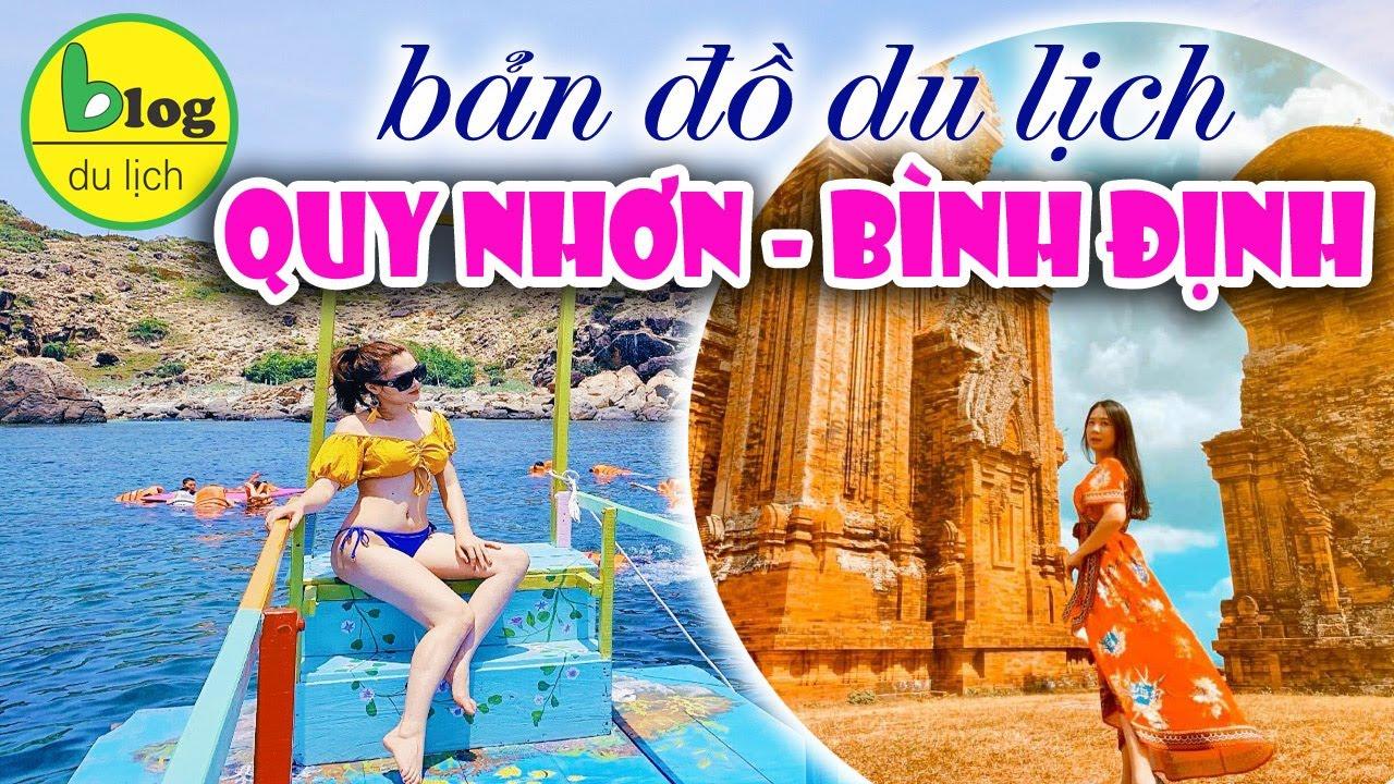 Bản đồ du lịch Quy Nhơn Bình Định bằng video đầy đủ và chi tiết nhất