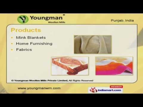 Mink Blanket by Youngman Woollen Mills Private Limited, Ludhiana