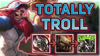 TRUNDLE IS THE ANSWER TO THE TANK META! HOW TO CARRY AS TRUNDLE TOP - Patch 7.15