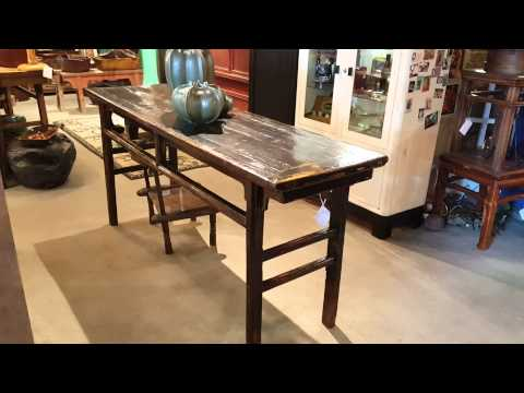 Antique & Reclaimed Wood Asian Furniture May 2015