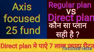 Axis focused 25 fund -direct growth review | कैसा है फंड ?