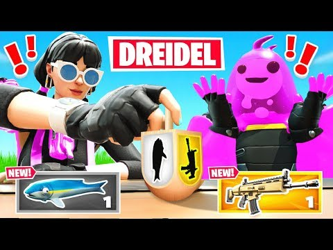 SPIN The *RANDOM* DREIDEL For our LOOT in Fortnite (Happy Hanukkah!)