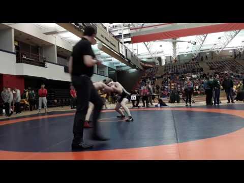 2016 Dino Invitational: 72 kg John Fayad vs. Braden Gabrielson