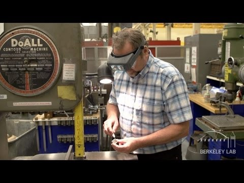 Behind the Scenes at Berkeley Lab - The Mechanical Fabrication Facility