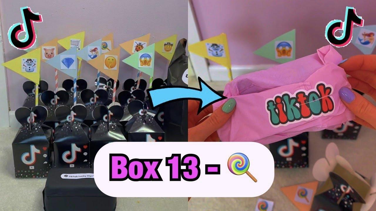 TikTok Mystery Boxes - BOX 13!!🍭 *asmr* #Shorts